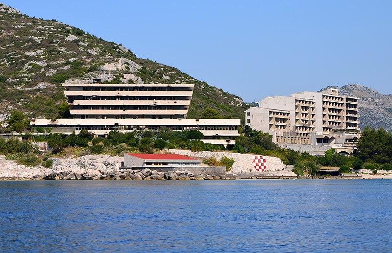 File:Hotels Pelegrin and Kupari (Kupari Croatia) 2.jpg