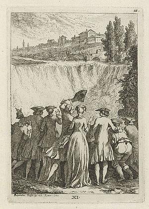 Étienne de La Vallée Poussin - Nella venuta in Roma, 1764