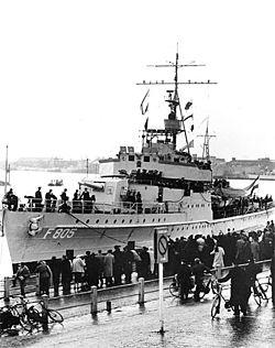 HNLMS Van Speijk (K3/F805), source: Koninklijke Marine
