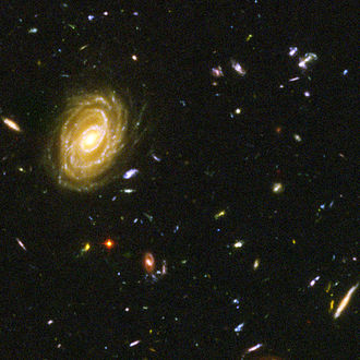 Magnitude (astronomy) - Image: Hubble Ultra Deep Field part