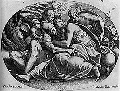 Hubert Maurer - Hermes bei Calypso und Odysseus