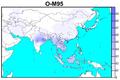 Human Y-chromosome Haplogroup O-M95 spatial distribution.png