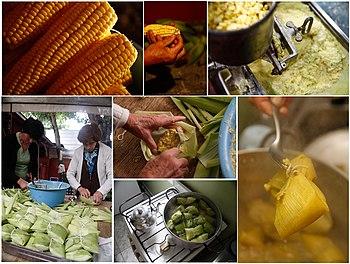 Humita wikipedia la enciclopedia libre for Gastronomia jujuy