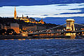 Hungary-2559 - Fisherman's Bastion and Chain Bridge (7814836768).jpg