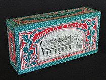 Huntley & Palmers Biscuits tin, photo 1.JPG