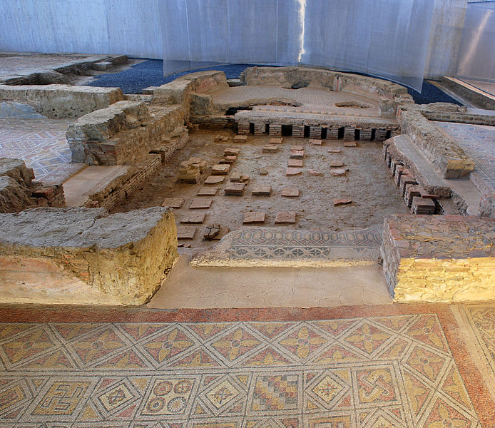 File:Hypocaustum Villa Romana La Olmeda 020 Pedrosa De La Vega - Saldaña (Palencia).JPG