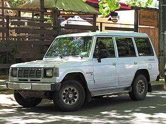 Hyundai Galloper - Image: Hyundai Galloper XL 2.5d Turbo Wagon 1996 (15767100351)