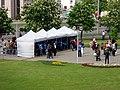 IIHF World Championship 2014 security zone near Minsk-Arena 2.jpg