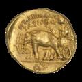 INC-3130-r Статер Египетское царство Птолемей I Сотер (реверс).png