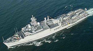 Eastern Naval Command - Image: INS Jalashwa