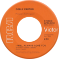 I will always love you by Dolly Parton 1974 US single.tif
