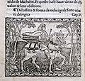 Iacobus de Cessolis, Libro di giuocho di scacchi, incunabolo, per maestro antonio miscomini, firenze 1 marzo 1493, 08 cavaliere.jpg