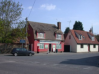 Ickleton - The village shop and post office