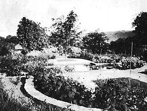 Ilaro Court - Image: Ilaro Court new garden 1925