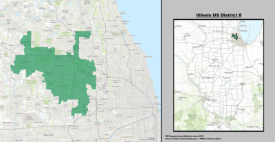 Illinois's 8th congressional district - since January 3, 2013.