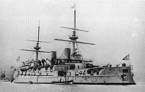 Imperator Aleksandr II-class battleship - Image: Imperator Nikolai I1886 1905