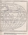 "In his ""Isolario"" (Venice, 1528), a catalogue of the world's islands, Benedetto Bordone (1460-1531) first offered an oval depiction of the world east half.jpg"