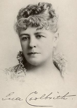 Ina Coolbrith - Ina Coolbrith in the 1880s