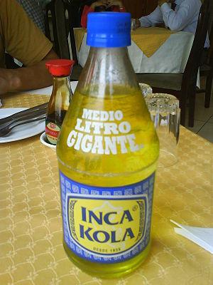 Inca Kola - Inca Kola Gordita