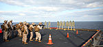 India Btry conducts live-fire aboard Iwo Jima 150204-M-BW898-020.jpg