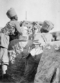Indian machine gunners at the Battle of Shaiba 1915.png