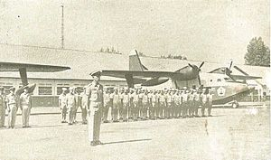 Indonesian Navy - Grumman HU-16 Albatross of the naval aviation, 1950s–1960s