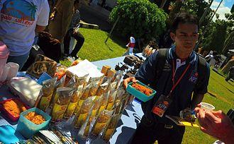 Rousong - Image: Indonesian beef floss