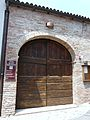 Ingresso centro culturale Giuseppe Borsalino, Pecetto di Valenza, Italia - 20110703.jpg