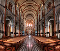 Inside a church in HDR - Saigon Notre-Dame Basilica (7333165142).jpg