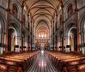 Inside a church in HDR - Saigon Notre-Dame Basilica (7333165142).jpg