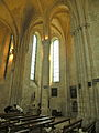 Interior of Abbaye de Saint-Jean-aux-Bois transept sud 2.JPG