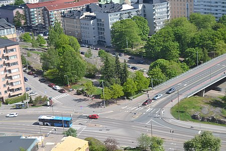 Intersection of Sturenkatu and Wallininkatu from Panoraama.JPG