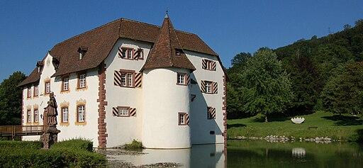 Inzlinger Wasserschloss Sommer