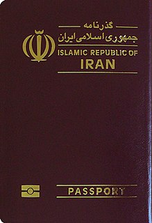 Iranian passport passport
