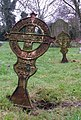 Iron grave markers - geograph.org.uk - 107759.jpg