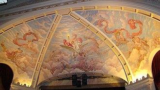 Ironwood Theatre - The proscenium mural