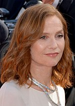 Photo of Isabelle Huppert at the 2017 Cannes Film Festival.