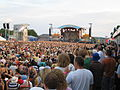 Isle of Wight Festival 2006 main stage from Virgin Radio area.jpg