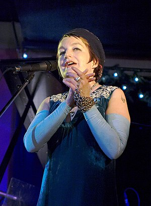 Jane Siberry - Jane Siberry on stage in 2007, when her identity was Issa