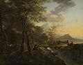 Italiaans landschap met tekenaar Rijksmuseum SK-C-109.jpeg