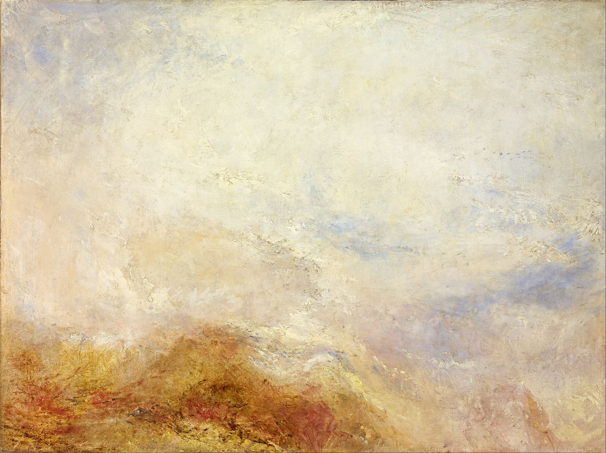 J. M. W. Turner - A mountain scene, Val d'Aosta - Google Art Project