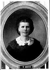 Baldina Johanna van 't Sant (1832-1869). Echtgenote van Coenraad Lodewijk Walther