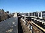 JFK UMass station platforms facing north from waiting room, April 2016.JPG