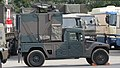 JGSDF High Mobility Vehicle(06-7523) with shelter of JMRC-C6-B right side view at Camp Itami October 9, 2016.jpg