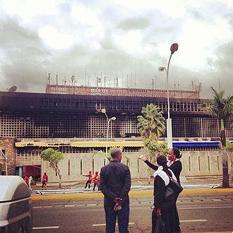 Jomo Kenyatta International Airport - Aftermath of 2013 Fire at JKIA