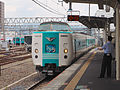 JR West Kuroshio refurbished set (15148324711).jpg