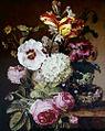 雅克·Barraband 1797静物花卉瓦特鸟Nest.jpg
