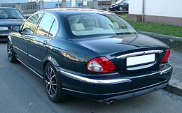 Jaguar X-Type rear 20071217.jpg