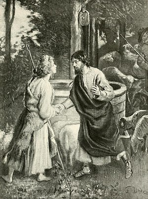 Jakob und Rahel, 1899