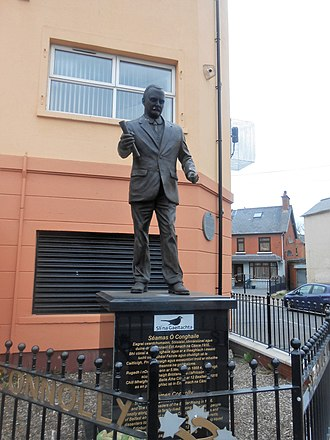 James Connolly - Statue of James Connolly in Belfast